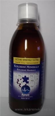 AURUM Aktívne minerály extra koloidné minerály 1x300 ml