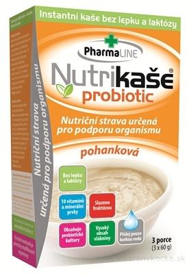 Nutrikaša probiotic - pohanková 3x60 g (180 g)