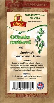AGROKARPATY OČIANKA ROSTKOVOVÁ vňať bylinný čaj 1x30 g