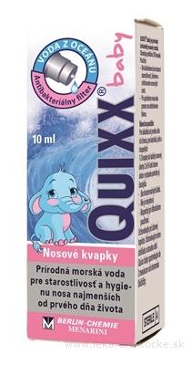QUIXX baby 0,9% nosové kvapky 1x10 ml