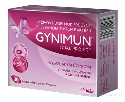 GYNIMUN DUAL PROTECT cps s riadeným uvoľňovaním 1x30 ks