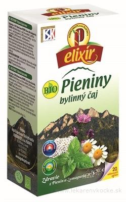AGROKARPATY BIO Pieniny bylinný čaj, čistý prírodný produkt 20x1,5 g (30 g)