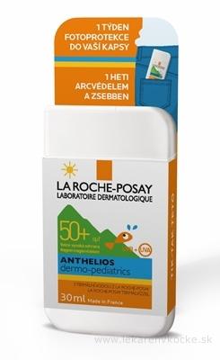 LA ROCHE-POSAY ANTHELIOS Dermo-pediatrics POCKET SPF 50+, 1 týždeň fotoprotekcie tváre detí do vášho vrecka (MB070800) 1x30 ml