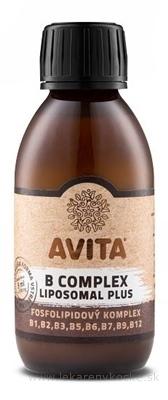 AVITA B COMPLEX LIPOSOMAL Plus roztok, fosfolipidový komplex 1x150 ml