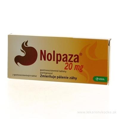 Nolpaza 20 mg tbl ent (blis. OPA/Al/PVC/Al) 1x7 ks