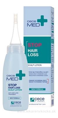ceceMED STOP HAIR LOSS LOTION lotion na pokožku hlavy (prevencia proti vypadávaniu vlasov) 1x75 ml