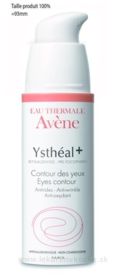 AVENE YSTHÉAL+ CONTOUR DES YEUX prevencia proti starnutiu pleti v okolí očí 1x15 ml