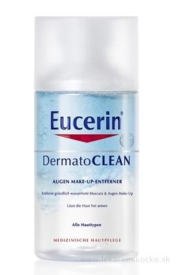Eucerin DermatoCLEAN odličovač vodeodolného očného make-upu 1x125 ml