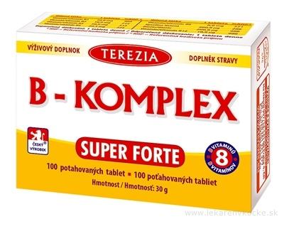 TEREZIA B-KOMPLEX SUPER FORTE tbl 1x100 ks