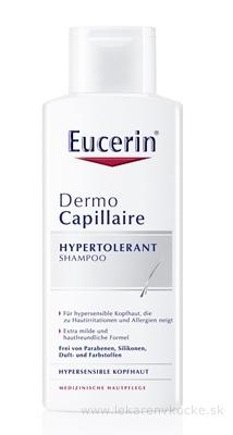 Eucerin DermoCapillaire Hypertolerantný šampón na citlivú a alergickú pokožku 1x250 ml