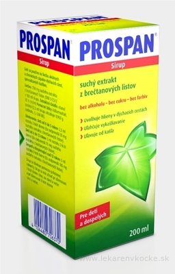 PROSPAN sir (fľ.skl.hnedá) 1x200 ml