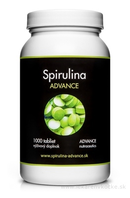 ADVANCE Spirulina BIO tbl 1x1000 ks