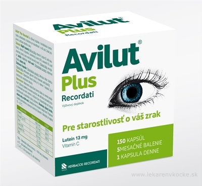 AVILUT Plus Recordati cps 1x150 ks