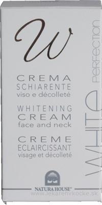 NH - WHITE PERFECTION BIELIACI KRÉM na tvár a dekolt, proti pigmentovým škvrnám, 1x50 ml