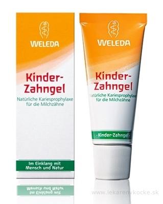 WELEDA Detský zubný gél (Kinder Zahngel) 1x50 ml
