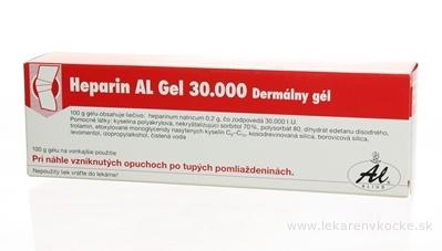 Heparin AL Gel 30 000 gel (tuba Al) 1x100 g