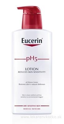 Eucerin pH5 Telové mlieko pre citlivú pokožku 1x400 ml