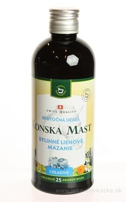 KONSKÁ MASŤ BYLINNÉ LIEHOVÉ MAZANIE CHLADIVÉ 1x400 ml