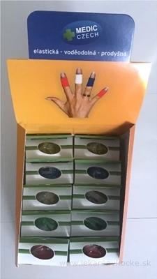 MEDIC Bandáž Finger Karton Mix 2,5cm x 4,5m, náplasť elastická (rýchloobväz), 5 farieb po 2 ks, 1x1 set