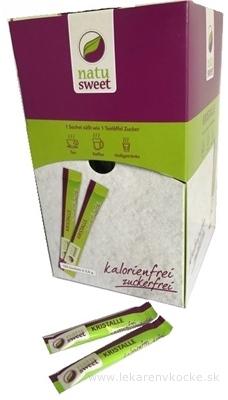 NATUSWEET KRISTALLE gastro sladidlo, práškové 120x2 g