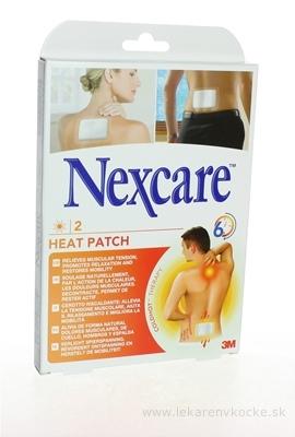 3M Nexcare HEAT PATCH, Náplasť hrejivá [SelP] 9,5x13 cm, 1x2 ks