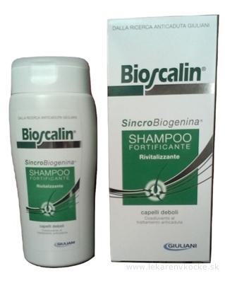 BIOSCALIN VLASOVÝ ŠAMPÓN revitalizujúci proti vypadávaniu vlasov 1x200 ml