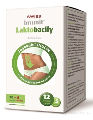 SWISS Imunit LAKTOBACILY cps 30+6 zadarmo (36 ks)