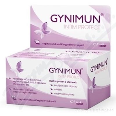 GYNIMUN INTIM PROTECT vaginálne kapsuly, 1x10 ks