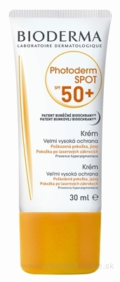 BIODERMA Photoderm SPOT SPF50+ krém 1x30 ml