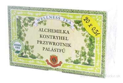 HERBEX ALCHEMILKA žltozelená vňať (bylinný čaj) 20x3 g (60 g)