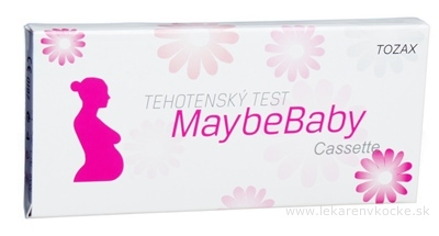 MaybeBaby cassette 2v1 tehotenský test (kazeta) 1x2 ks