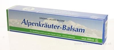 Primavera Alpenkräuter Balsam balzam z Alpských bylín 1x200 ml