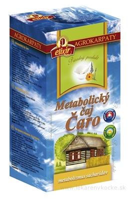 AGROKARPATY Metabolický čaj Čaro prírodný produkt, 20x2 g (40 g)