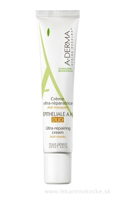 A-DERMA EPITHELIALE A.H DUO CREME ultra-obnovujúci krém 1x40 ml