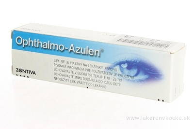 OPHTHALMO-AZULEN ung oph (tuba l) 1x5 g