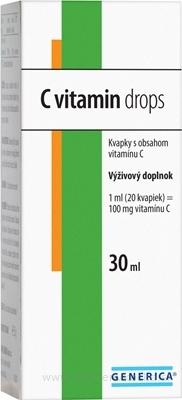 GENERICA C vitamin drops 1x30 ml