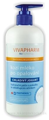 KOZIE MLIEKO PO OPAĽOVANÍ s chladivým jogurtom 1x400 ml