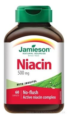 JAMIESON NIACÍN 500 mg S INOZITOLOM tbl 1x60 ks