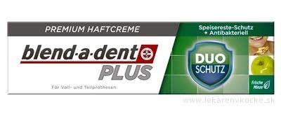 blend-a-dent PLUS DUO SCHUTZ Frische Minze, premium fixačný dentálny krém 1x40 g
