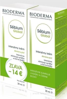 BIODERMA Sébium Global BALIK intenzívny krém 2x30 ml (14 Eur ZĽAVA), 1x1 set