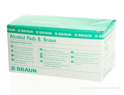 B.BRAUN ALKOMED TAMPÓNY ALKOHOLOVÉ sterilné 1x100 ks