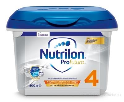 Nutrilon 4 ProFutura Nová batoľacia mliečna výživa v prášku (od 24 mesiacov) (inov.2019) 1x800 g