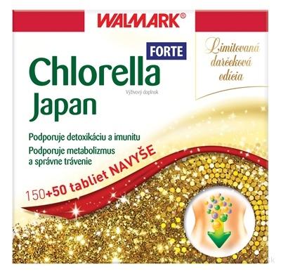 WALMARK Chlorella Japonská tbl 150+50 ks navyše (200 ks)