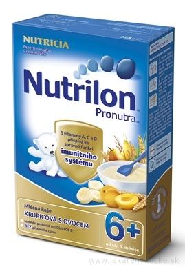 Nutrilon Pronutra obilno-mliečna kaša krupicová s ovocím (od ukonč. 6. mesiaca), 1x225 g