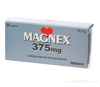 Vitabalans MAGNEX 375 mg tbl 1x30 ks