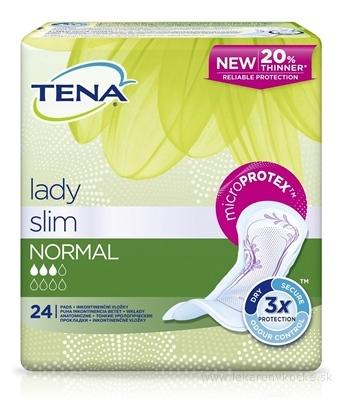 TENA Lady Slim NORMAL vložky inkontinenčné 1x24 ks