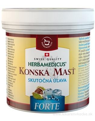 Herbamedicus Konská masť Forte chladivá 500 ml