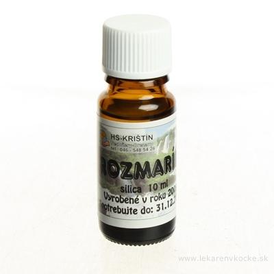HS prírodná silica Rozmarín 1x10 ml