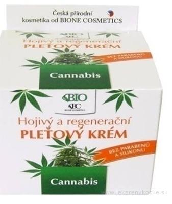 BIO Cannabis PLEŤOVÝ KRÉM Hojivý a regeneračný 1x51 g