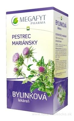 MEGAFYT Bylinková lekáreň PESTREC MARIÁNSKY bylinný čaj 20x2,5 g (50 g)